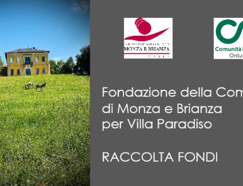 Fondazione della Comunità Monza e Brianza per Villa Paradiso