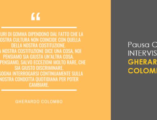 Pausa Caffè con Gherardo Colombo