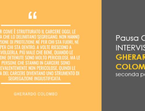 Pausa Caffè: Gherardo Colombo e l'idea di carcere.
