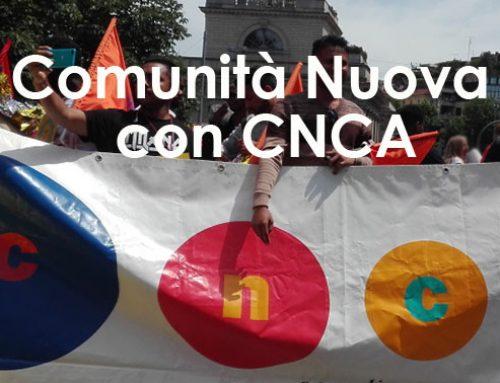 Comunità Nuova con CNCA per l'accoglienza